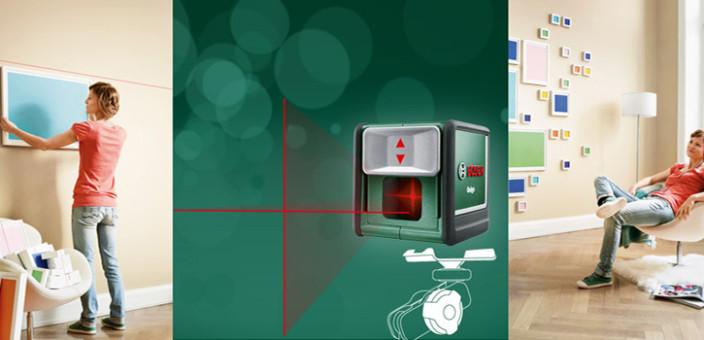 Zgodna alatka – Laser Quigo iz Boscha