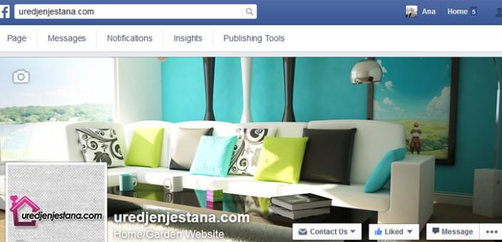 Facebook stranica uredjenjestana.com