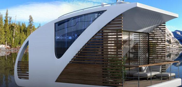 Luksuzni katamaran – kuća na vodi iz pera Novosađana