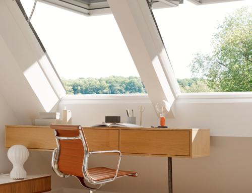 Kako do savršene kancelarije u vašem potkrovlju
